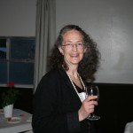 Kay with Wine Glass