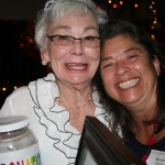 Martha and Nickie Happy About Raffle Contributions