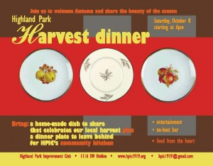 Highland Park Harvest Dinner