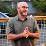 Billy Markham - lead fence designer and builder.