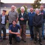 Fence crew - l to r: Blair Johnson, Billy Markham, Peter de Lory, Shawn Mazza, Kay Kirkpatrick, Billy Stauffer; front: Greg Winger. not pictured: Craig Rankin.